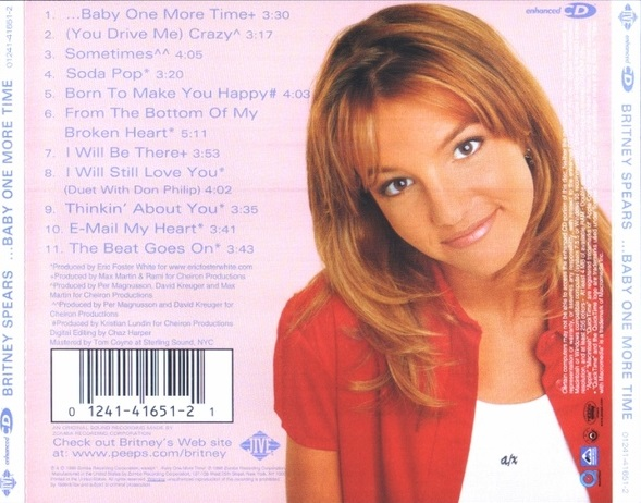 britney spears baby one more time album download